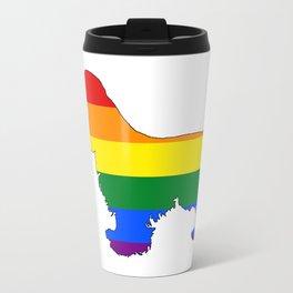 Rainbow Cocker Spaniel Travel Mug