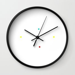 I'il be three for you Wall Clock