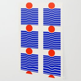 Going down-modern abstract Wallpaper