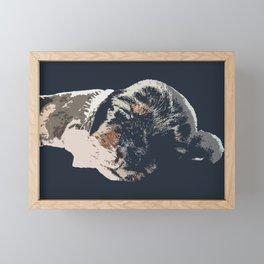 """Kazoozle"" ~ Dachshund, Weiner Dog, Doxie, everywhere!  Framed Mini Art Print"