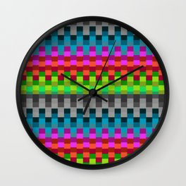 Stable Colour Wall Clock