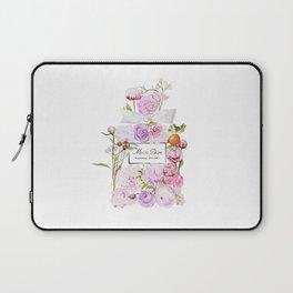 Parfum Perfume Fashion Floral Flowers Blooming Bouquet Laptop Sleeve