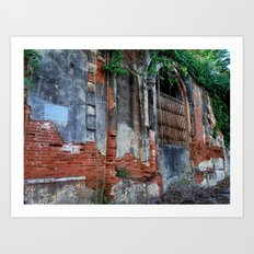 Old Colonial Building Art Print