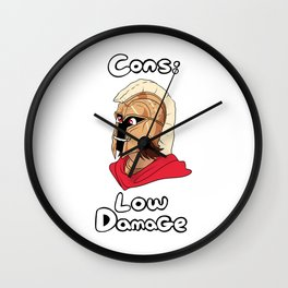 Ares Cons: Low Damage Wall Clock