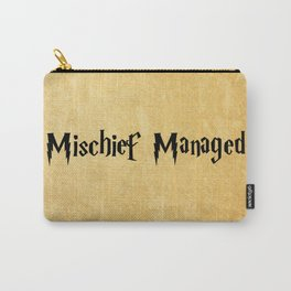 Mischief Managed Carry-All Pouch