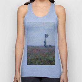 1881-Claude Monet-Poppy Field-58 x 79 Unisex Tank Top