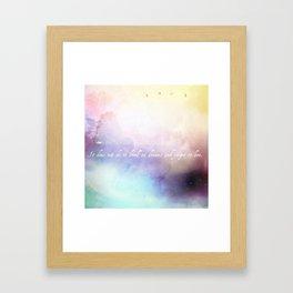 Dwell V1 Framed Art Print