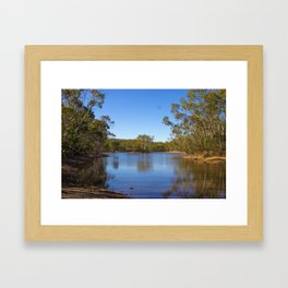 Parawirra Water front Framed Art Print