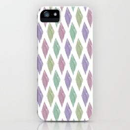 diamond geo iPhone Case
