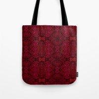 persian Tote Bags featuring Persian rugs by Vargamari