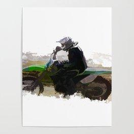 Dirt-biker - Motocross Racer Poster