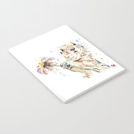 Gopher Colorful Watercolor Painting Notebook