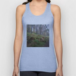 Forest and ferns Unisex Tank Top