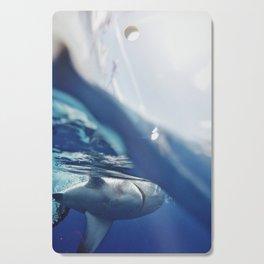 Shark on the Surface Cutting Board