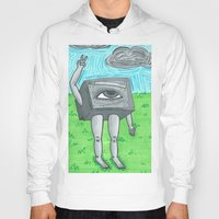 technology Hoodies featuring Technology life by Diane McGregor Art
