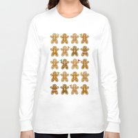 ginger Long Sleeve T-shirts featuring Ginger by Kakel