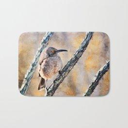 Desert Bird Morning Light Bath Mat