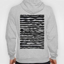 black and white Hoody