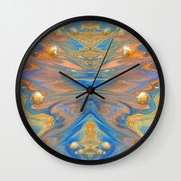 abstract shapes 3.2 Wall Clock