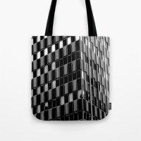dallas Tote Bags featuring Building8 Dallas by SarahGW