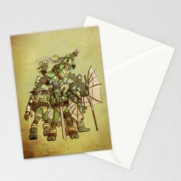 Steampunk Ninja Turtles Stationery Cards