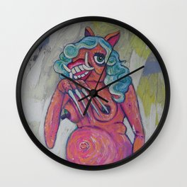 Miss Piggy as Balinese Witch Barbie Wall Clock