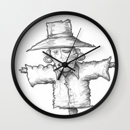 Scarecrow Recon #1 Wall Clock