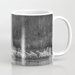 White Pelican Fleet 6801 B & W - Northwestern Nevada Coffee Mug