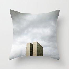 Brasilia, Brazil  Throw Pillow