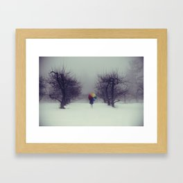 Trapped in Wonderland Framed Art Print