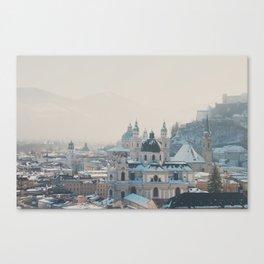 winter blues ... Canvas Print