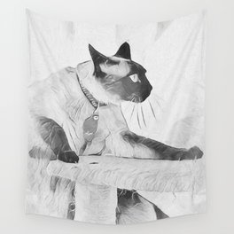 Moving On Up Wall Tapestry