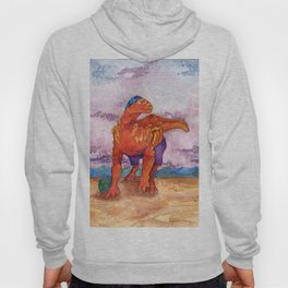 Beach Ball Dinosaur - Barney Hoody