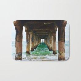 Manhattan Beach Pier Bath Mat