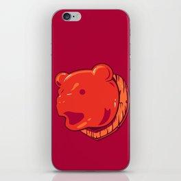 Bear prize iPhone Skin