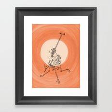 In The Devil's Snare (One) Framed Art Print