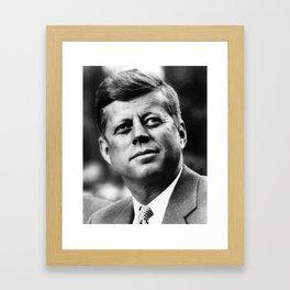 President John F. Kennedy Framed Art Print