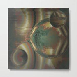 Random 3D No. 910 Metal Print