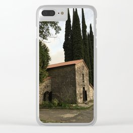 The Abaat house Clear iPhone Case