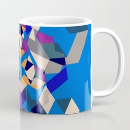 Blue collage Coffee Mug