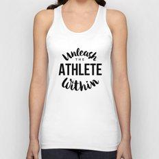 Unleash the athlete within Unisex Tank Top