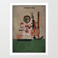 03_ARCREATURES-01 Art Print