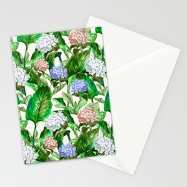 Tropical Garden Stationery Cards