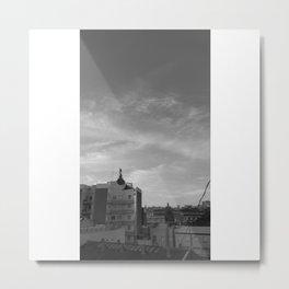 Los tejados Metal Print
