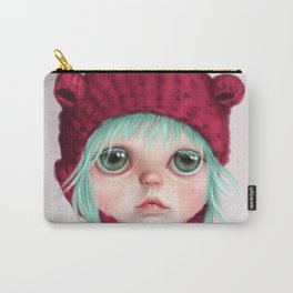 Red bear doll Carry-All Pouch