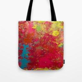 Tie-Dye Veins Tote Bag