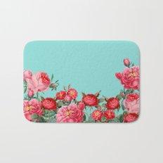 Fab Floral Bath Mat