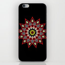 Stars Up to the Sky   Mandhala   Mother Star iPhone Skin
