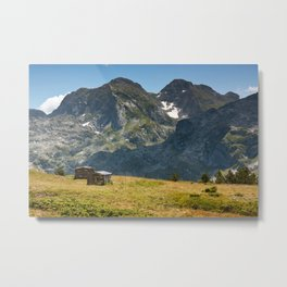 In The Mountains Metal Print