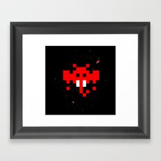 Space Ganesha Framed Art Print